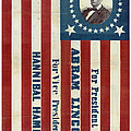 Lincoln 1860 Presidential Campaign Banner by John Stephens