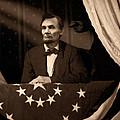 Lincoln At Fords Theater by Ray Downing