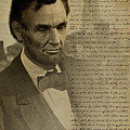 Lincoln At Gettysburg by Ray Downing
