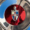 Lincoln Capri Wheel Emblem by Jill Reger