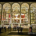 Lincoln Center At Night by Maritza Melendez