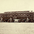 Lincoln Funeral Car, 1865 by Granger