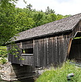 Lincoln Gap Covered Bridge by Christiane Schulze Art And Photography