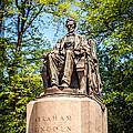 Lincoln Head Of State Statue In Chicago by Paul Velgos