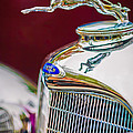 Lincoln Hood Ornament - Grille Emblem -1187c by Jill Reger
