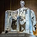 Lincoln In Memorial by Nick Zelinsky