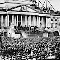 Lincoln Inauguration, 1861 by Granger