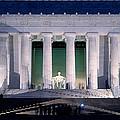 Lincoln Memorial At Dusk, Washington by Panoramic Images