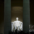 Lincoln Memorial At Night by B Christopher