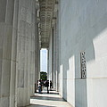 Lincoln Memorial Columns by Christiane Schulze Art And Photography