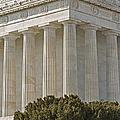 Lincoln Memorial Pillars by Susan Candelario
