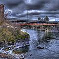 Lincoln Street Bridge 2013 by Lee Santa
