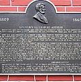 Lincoln's Gettysburg Address Plaque by Snapshot Studio