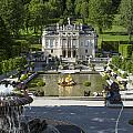 Linderhof And Royal Garden by Radka Linkova
