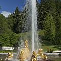 Linderhof Fountain by Radka Linkova