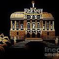 Linderhof Palace by Straw Art