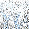 Line Forest by Regina Valluzzi