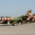 Line-up Of Hellenic Air Force T-2 by Timm Ziegenthaler