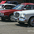 A Line Up Of Vintage Cars by Terri Waters