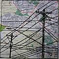 Lines On Map by William Cauthern
