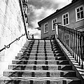 Lines On The Stairs by John Rizzuto