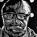 Lino Cut Charlie Spear by Charlie Spear