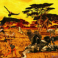 Lion Kill Morning After'98 by Michael Pittas