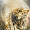Lion Kiss by Carol Cavalaris