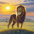 Lion by MGL Studio - Chris Hiett