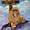 Lion Of Judah At The Cross by Bob and Nadine Johnston