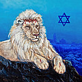 Lion Of Judah Before Jeruselum by Bob and Nadine Johnston