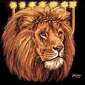 Lion Of Judah - Menorah by Bob and Nadine Johnston