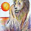 Lion Of Lions by Roberto Gagliardi