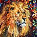 Lion by Leonid Afremov