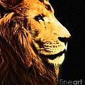Lion Paint 2 by Ben Yassa