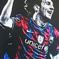 Lionel Messi - Barceona Fc 2  by Geo Thomson