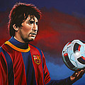 Lionel Messi 2 by Paul Meijering