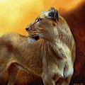 Lioness Is Near by Carol Cavalaris
