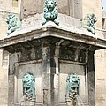 Lionfountain - Part Of The Obelisk - Arles by Christiane Schulze Art And Photography