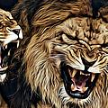 Lions by Carlos Diaz