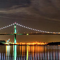 Lions Gate Bridge In Colour by Naman Imagery
