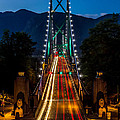 Lion's Gate Bridge Vancouver B.c Canada by Pierre Leclerc Photography