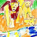 Lions by Samuel Zylstra
