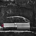 Lipstick - Bw  by Kathleen K Parker