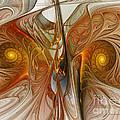 Liquid Crystal Spirals by Karin Kuhlmann