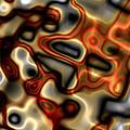 Liquid Mercury And Rust by Hakon Soreide