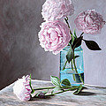 Lisa's Peonies by Christopher Lyter