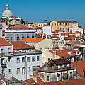 Lisbon Alfama District by Cascade Colors