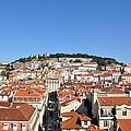 Lisbon Skyline by Laura Lowrey