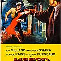 Lisbon, Us Poster Art, Ray Milland by Everett